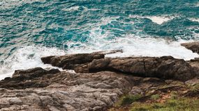 Rock&wave 免版税库存图片