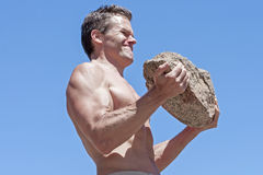 Rock workout Royalty Free Stock Images