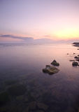 rock wschód słońca Obraz Stock