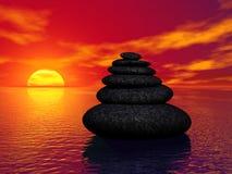 rock zen. Obrazy Stock