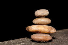 The rock zen Royalty Free Stock Photos