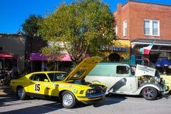 2015 Rockabillaque, Charleston del nord, Sc Fotografie Stock Libere da Diritti