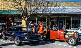 2015 Rockabillaque, Charleston del norte, SC Foto de archivo libre de regalías