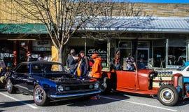 2015 Rockabillaque, Charleston norte, SC Foto de Stock Royalty Free