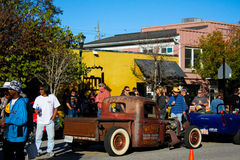 2015 Rockabillaque, Charleston norte, SC Imagens de Stock Royalty Free