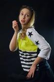 Rockabilly девушка Стоковая Фотография RF