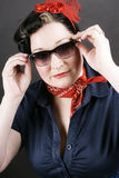 Rockabilly fashion Stock Images