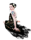 Rockabilly Goddess Royalty Free Stock Photo