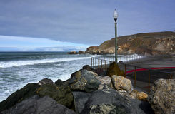 Rockaway Beach, Pacifica California royalty free stock image