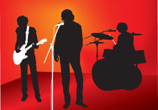 Rockband Lizenzfreie Stockfotografie