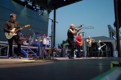 Rockband Chicago Royaltyfri Foto
