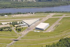 Rockcliff Ottawa Airport aerial Royalty Free Stock Images