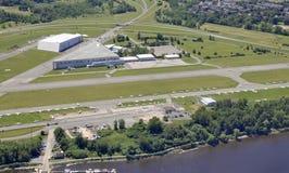 Rockcliff Ottawa Airport aerial Stock Photo