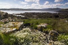 Rockcliffe, Dumfries and Galloway, Scotland. Royalty Free Stock Photography