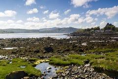 Rockcliffe, Dumfries und Galloway, Schottland lizenzfreies stockfoto