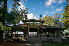 The Rockcliffe Park Pavilion in Ottawa, Canada Royalty Free Stock Images