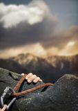 Rockclimber Royalty Free Stock Photo