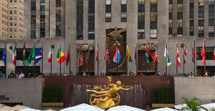 Rockefeller Center Royalty Free Stock Photo