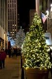Rockefeller center in Christmas Royalty Free Stock Images