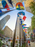 The Rockefeller Center in downtown Manhatta Royalty Free Stock Photography