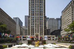 Rockefeller Center, editorial Stock Image