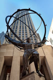 Rockefeller center in Manhattan Stock Photography