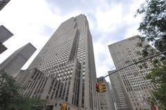 Rockefeller Center, Manhattan, New York City Stock Images