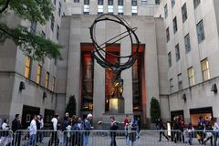 Rockefeller Center in Manhattan New York Stock Photo