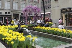 Rockefeller center in new York city Stock Photos