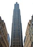 Rockefeller center new york city. New York City rockefeller center and surrounding buildings Stock Photography