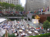Rockefeller Center in New York City Royalty Free Stock Images