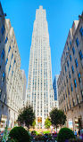 Rockefeller Center in New York City Royalty Free Stock Photos