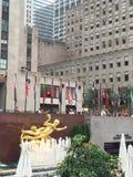 Rockefeller Center in New York City Royalty Free Stock Photos
