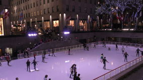 Rockefeller Center New York City stock footage