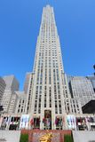 Rockefeller Center Stock Photo