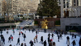 The Rockefeller Center in New York. USA Royalty Free Stock Photos