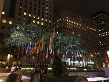 Rockefeller Center, New York. The view near Rockefeller Center in New York Stock Photos