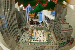 Rockefeller center plaza Royalty Free Stock Photography