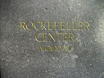 rockefeller center print royalty free stock photos