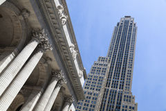 Rockefeller Center and Public Library, New York Royalty Free Stock Images