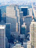 Rockefeller Center and the Top of the Rock observatory in New York Royalty Free Stock Image