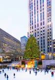 Rockefeller Center View Stock Photography