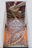 Rockefeller Center Wisdom, Light and Sound Royalty Free Stock Photos