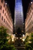 Rockefeller centrerar, New York City arkivfoton