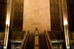 Rockefeller Lobby Stock Photo