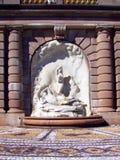 Rockefeller Mansion 02 Garden Statue Fountain Stock Image
