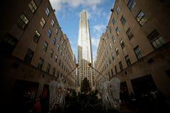 Rockefeller mitt Royaltyfria Foton
