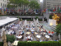 Rockefeller mitt i New York City Royaltyfri Bild