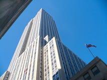 Rockefeller mitt New York Arkivbilder
