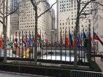 Rockefeller mitt NYC Arkivbilder